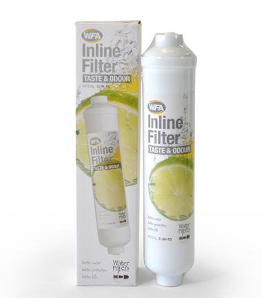 Inline Water Filter for House