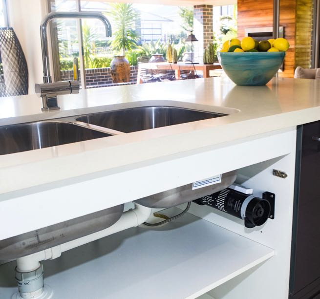 Turn your existing kitchen tap into a 24/7 home water filtration system