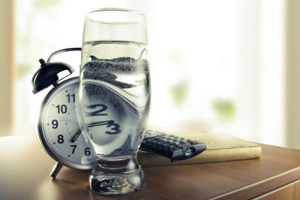 The benefits of drinking filtered water at different times of the day
