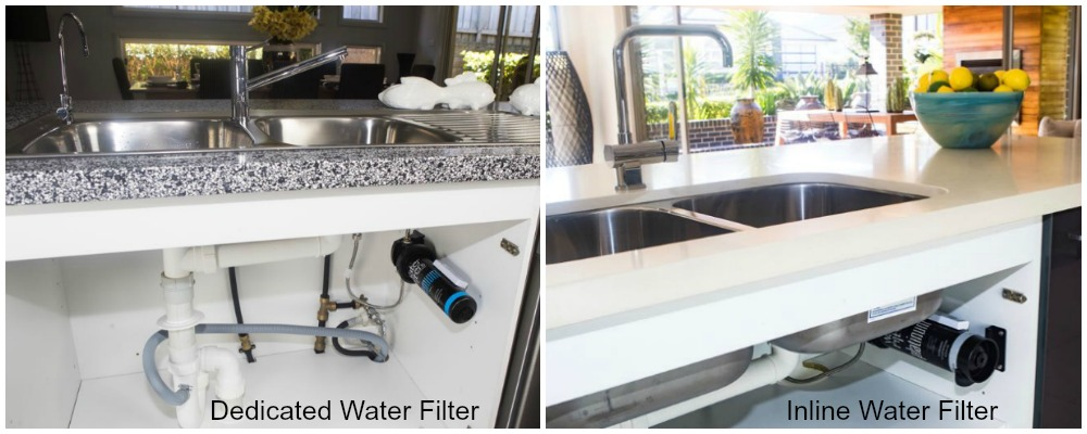 Water Filter System For Kitchen Sink Difference between dedicated water filter and inline water filter the dedicated water filter system workwithnaturefo