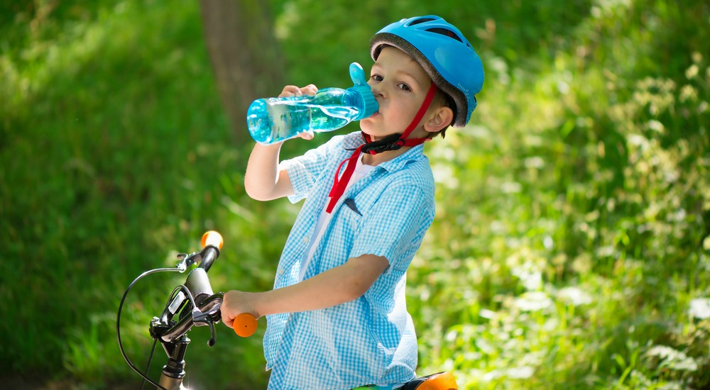 So how much water should my child drink?