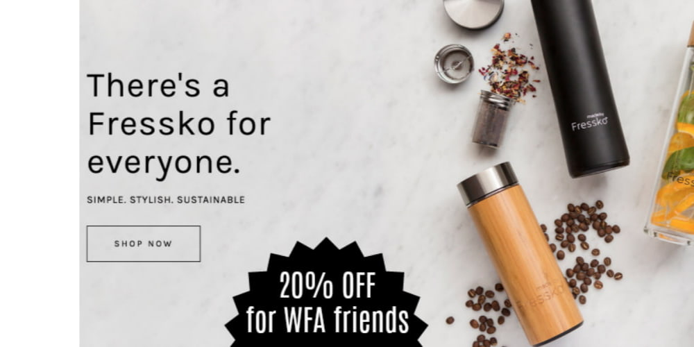A Special Offer for WFA friends