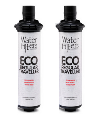 Twin pack ECO regular traveller