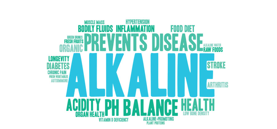 The suggested health benefits of alkaline water