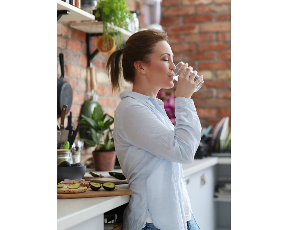 Water suppresses your appetite