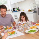 family- dinner-kitchen