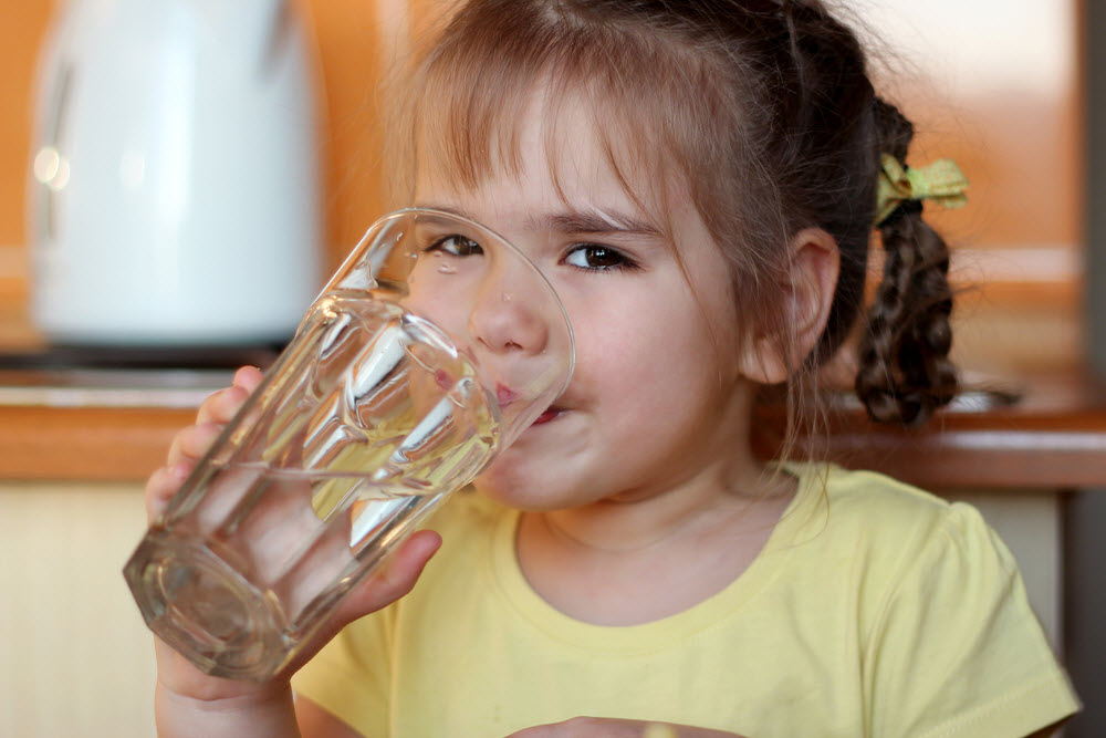 How do you I get my child to drink more water?