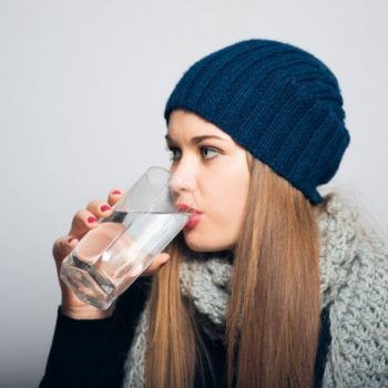 Dehydration actually increases in winter months