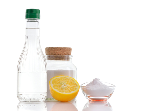 DIY cleaning products with filtered water
