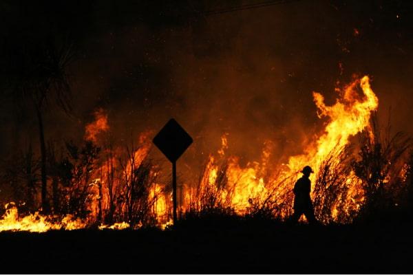 Bushfires may cause potential water contamination