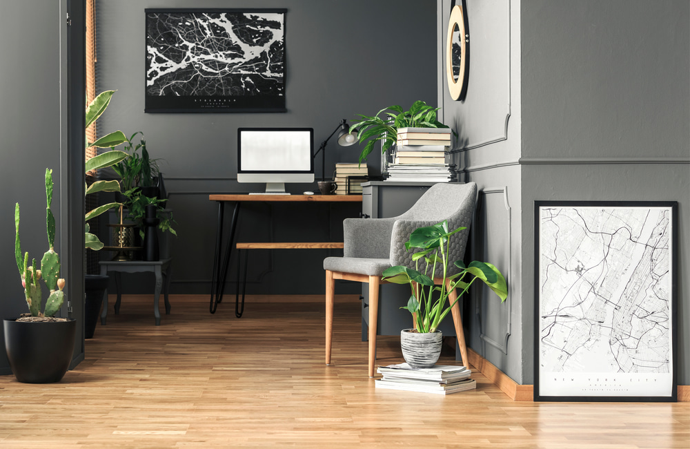 Create a home office space... even if it's only a corner