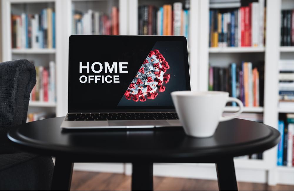 Home office during coronavirus pandemic