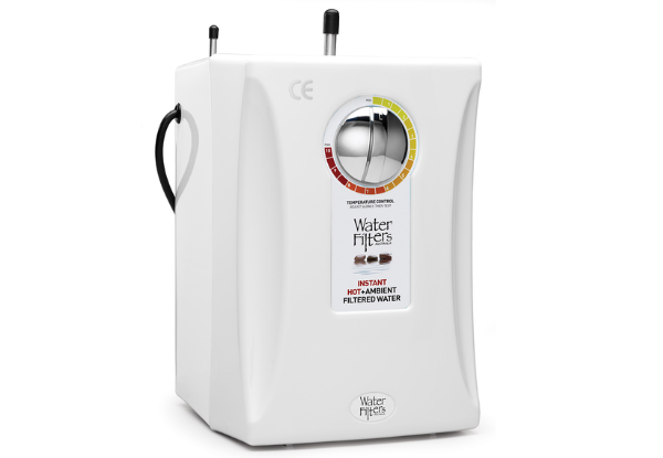 Install a hot and cold water filter