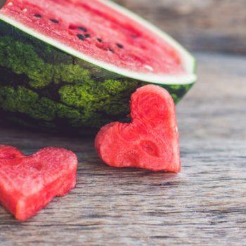 Healthy watermelon smoothie