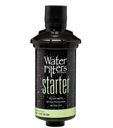 Cartridge starter bottle