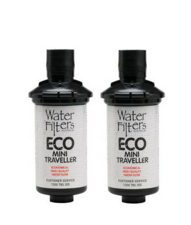 Twin Pack ECO Mini Traveller Cartridge