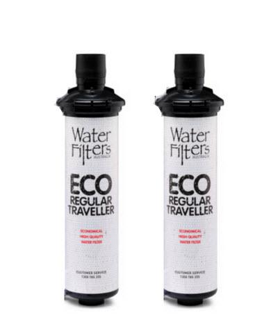 Twin Pack ECO Regular Traveller Filter Cartridges