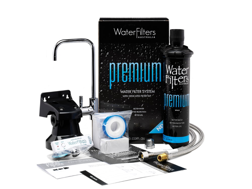 The Premium water filter system with dedicated filter tap